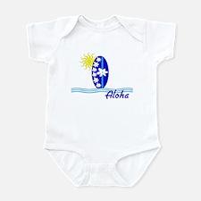 Aloha Surfboard Sun Baby/Toddler Bodysuit
