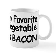 MY FAVORITE VEGETABLE IS BACON Mug