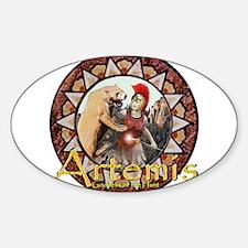 Artemis Oval Decal