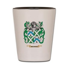 Morris-3 Coat of Arms - Family Crest Shot Glass