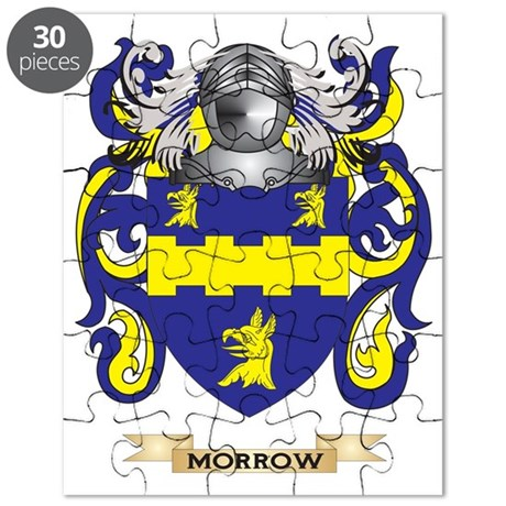 Morrow Coat of Arms - Family Crest Puzzle