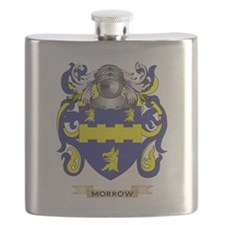 Morrow Coat of Arms - Family Crest Flask