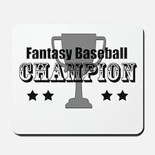 Fantasy Baseball Champion Mousepad