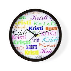 Kristi Wall Clock