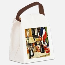 Bastille Day, Paris - painting by Canvas Lunch Bag