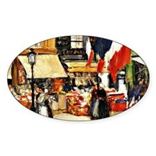Bastille Day, Paris - painting by C Decal