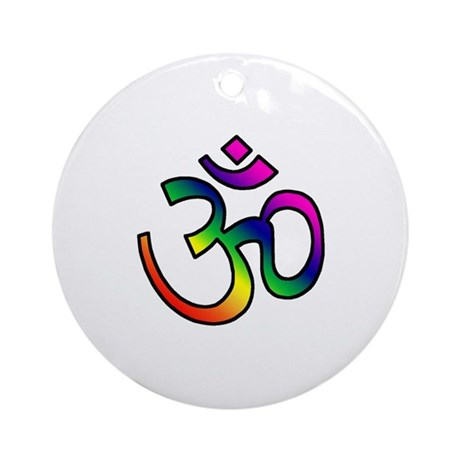 Om Ornament (Round)