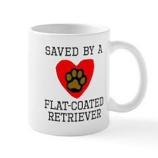 Saved By A Flat-Coated Retriever Mugs