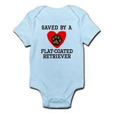 Saved By A Flat-Coated Retriever Body Suit