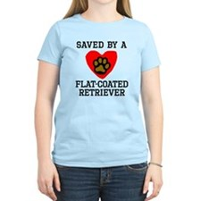 Saved By A Flat-Coated Retriever T-Shirt