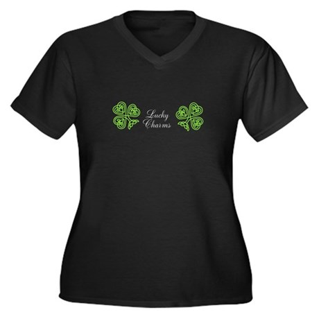 Lucky Charms Fitted Womens T-Shirt Plus Size T-Shi