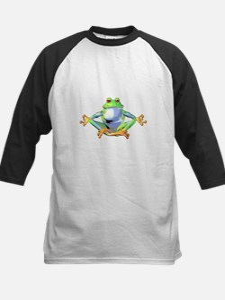 frogzen.png Baseball Jersey
