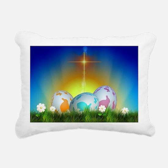 Easter Design Rectangular Canvas Pillow