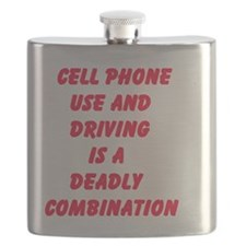 Cell Phone Use And Driving Is A Deadly Combi Flask