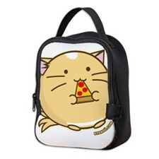 Fuzzballs Pizza Cat Neoprene Lunch Bag