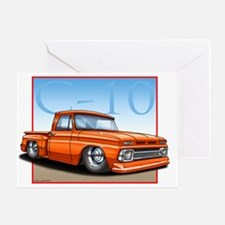 Orange_C10_Stepside Greeting Card