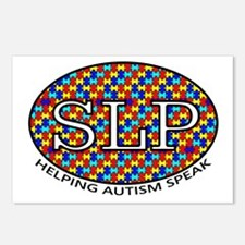 SLP Autism Postcards (Package of 8)