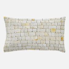 Portuguese sidewalk pavement Pillow Case
