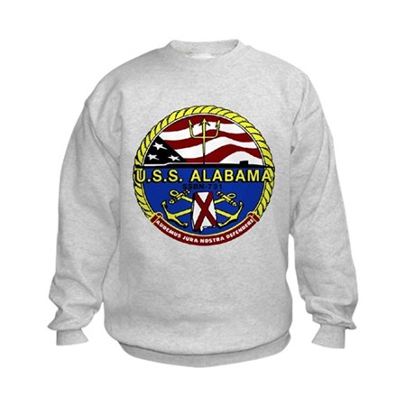 USS Alabama SSBN 731 Kids Sweatshirt
