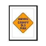 THe Grumpy Framed Panel Print