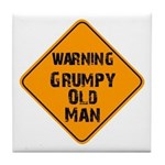 THe Grumpy Tile Coaster