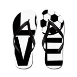 Girls soccer Flip Flops