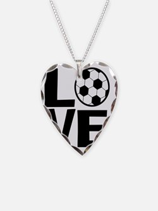 Love Soccer Necklace