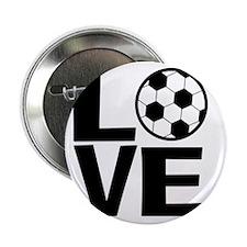 "Love Soccer 2.25"" Button"