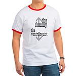 Dummy/Ventriloquist Mature Humor Ringer T