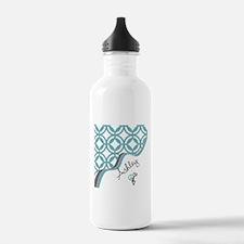 Custom Name Pattern Water Bottle