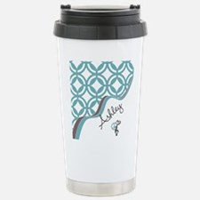 Custom Name Pattern Stainless Steel Travel Mug