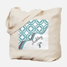 Custom Name Pattern Tote Bag