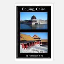 Two Views of the Forbidden City Postcards (8 cards
