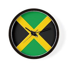 Team Jamaica Bobsled Wall Clock
