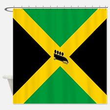 Team Jamaica Bobsled Shower Curtain