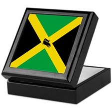 Team Jamaica Bobsled Keepsake Box