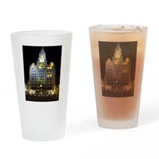 Royal Liver Building, Liverpool UK Drinking Glass