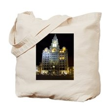 Royal Liver Building, Liverpool UK Tote Bag