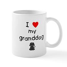 I love my granddog (4) Mug