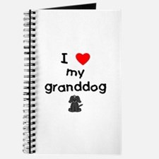 I love my granddog (4) Journal