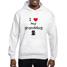 I love my granddog (4) Hoodie