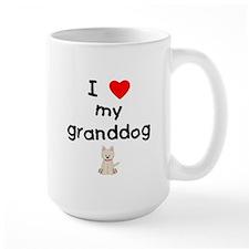 I love my granddog (westie) Mug