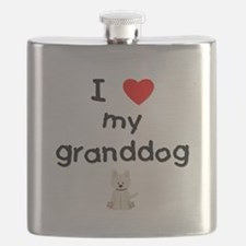 I love my granddog (westie) Flask