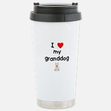 I love my granddog (westie) Travel Mug
