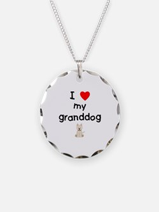 I love my granddog (westie) Necklace