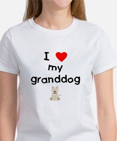 I love my granddog (westie) Women's T-Shirt
