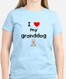 I love my granddog (westie) T-Shirt