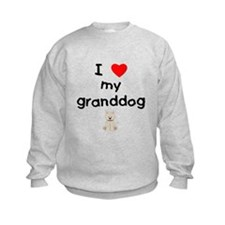 I love my granddog (westie) Sweatshirt