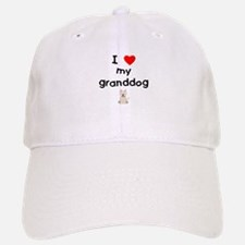 I love my granddog (westie) Baseball Baseball Cap
