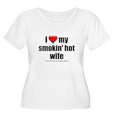 """Love My Smokin' Hot Wife"" T-Shirt"
